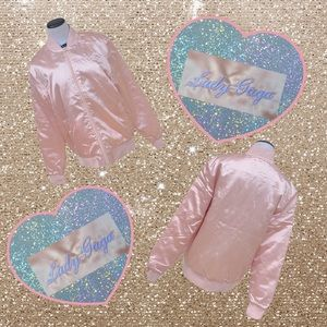 New Without Tags Lady Gaga Pink Satin Jack…